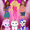 Play free games for kids Barbie Fashion Pets