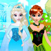 Play free games for kids Anna and Elsa Frozen Garden